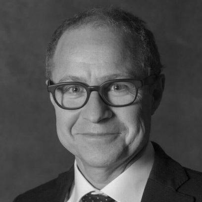 Portrait von Andreas Löffert (schwarz-weiß)