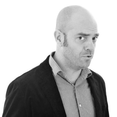 Portrait von Dr. Philipp Gramlich (schwarz-weiß)