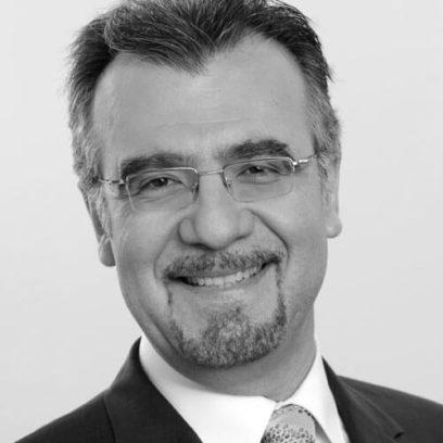 Portrait von Prof. Dr. Haralabos Zorbas (schwarz-weiß)