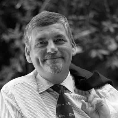 Portrait von Dr. Hans Jürgen Wernicke (schwarz-weiß)